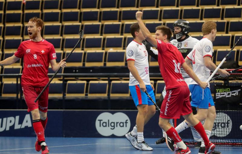 Švýcaři nedali českému výběru šanci. Foto: Juhani Järvenpää