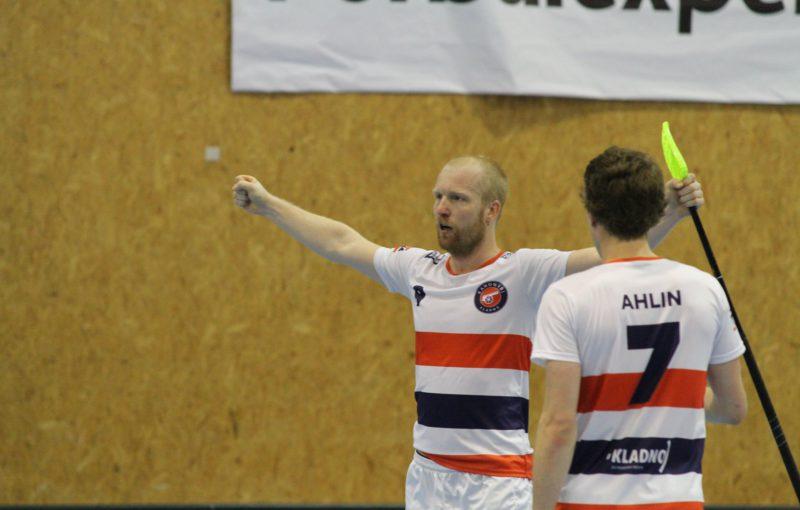 Dvěma góly přispěl k pohárovému triumfu nad Black Angels Dušan Přívara. Foto: David Hácha, Kanonýři Kladno