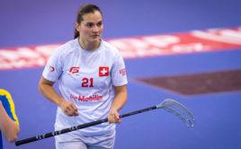 Corin Rüttimann bude opět jedním z hlavních lídrů švýcarského týmu. Foto: Martin Flousek, Český florbal