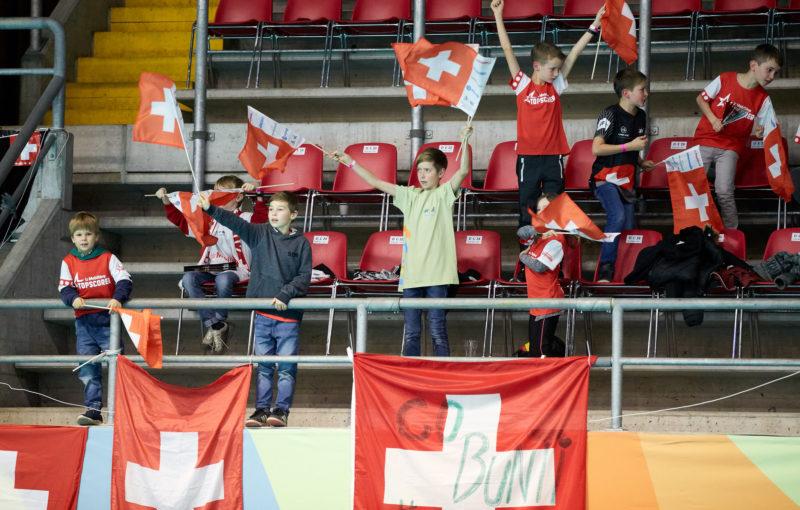 Švýcarsko slaví postup do semifinále světového šampionátu. Foto: Michael Peter, IFF