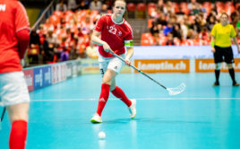 Cecilia Di Nardo v utkání proti Norsku. Foto: Fabrice Duc, www.fabriceduc.ch