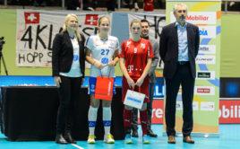 Nela Jiráková patřila k nejlepším českým hráčkám. Foto: Martin Flousek, Český florbal