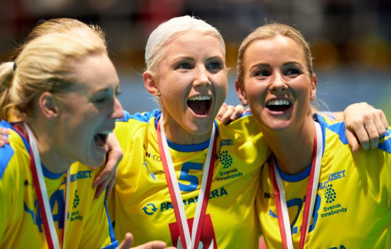 Švédská radost po finálovém triumfu. Foto: Michael Peter, IFF