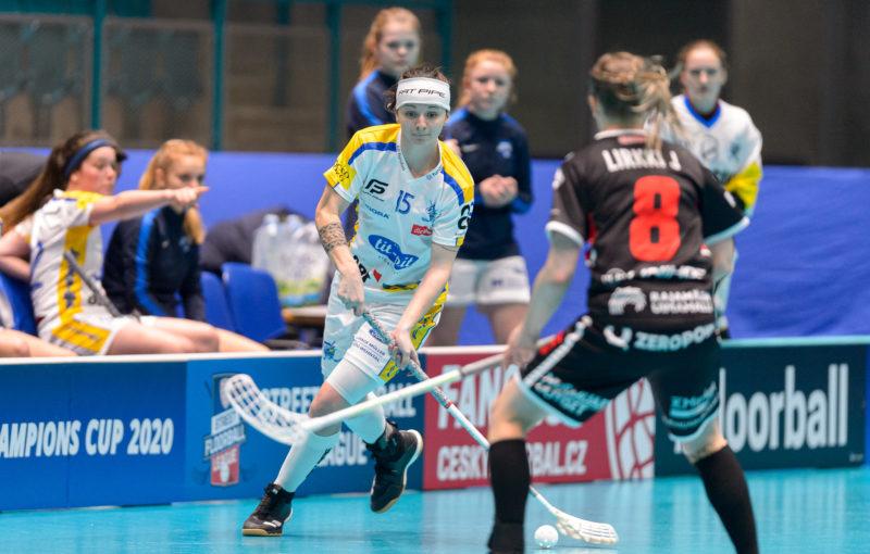 Natálie Martináková v utkání proti SB-Pro. Foto: Martin Flousek