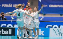Florbalistky Täby postoupily do finále Champions Cupu. Foto: Martin Flousek