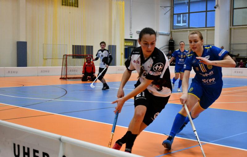 32 gólů viděli diváci v Rudné při utkání domácích Panthers s ostravským FBC. Foto: Panthers Praha