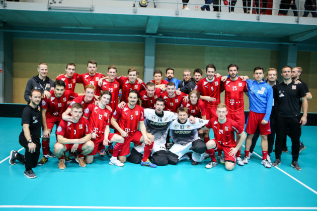 Český tým ovládl kvalifikační turnaj v Lotyšsku. Foto: IFF