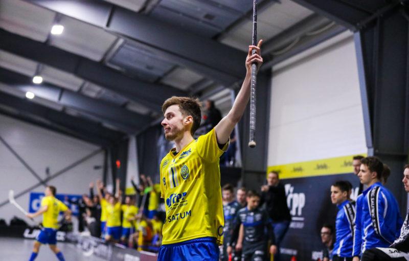 Ostravané po třetí výhře v řadě pořádně zamotali boj o play off. Foto: FBC ČPP Ostrava, Český florbal