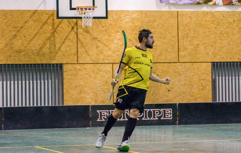 Filip Řehulka přispěl gólem k první výhře Startu nad Českými Budějovicemi. Foto: Matěj Procházka photos
