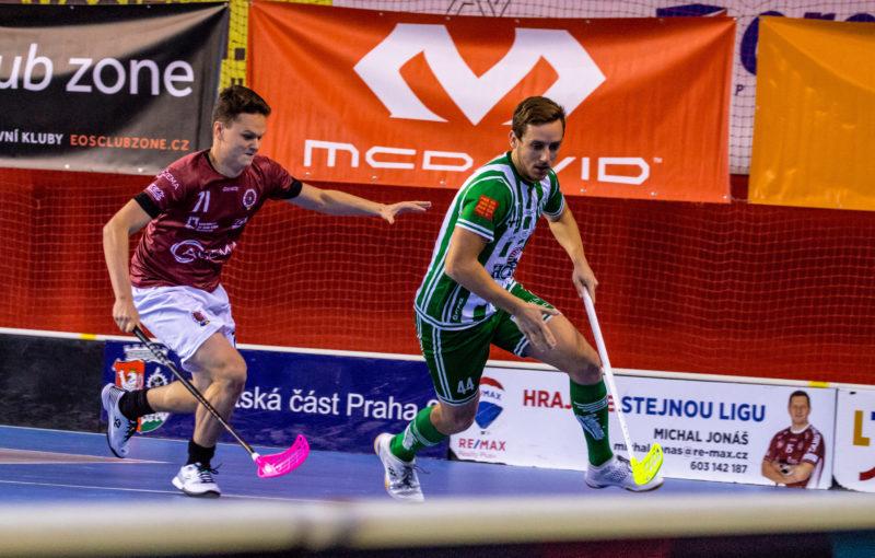 Ve čtvrtfinále na sebe stejně jako loni narazí Sparta a Bohemians. Foto: ACEMA Sparta Praha, Český florbal