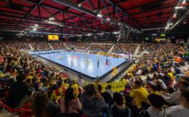 AXA Arena ve Winterthuru pojme 1940 diváků. Foto: HC Rychenberg