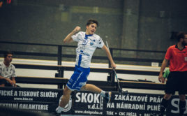 Český reprezentant Mikuláš Krbec oblékne dres pražské Sparty. Foto: Florbal Chodov, Český florbal