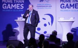 John Lijelund je generálním sekretářem Mezinárodní florbalové federace. Foto: IFF