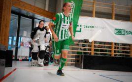 Kapitánka Bohemians Hana Poláková sice opět táhla svůj tým, zelenobílý tým ale na Boleslav nestačil. Foto: FbŠ Bohemians