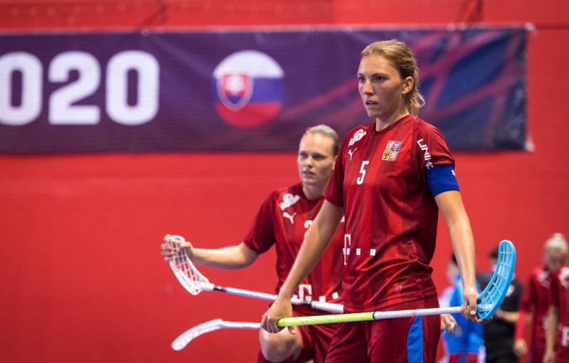 Eliška Krupnová je novou reprezentační rekordmankou. Foto: Martin Flousek, Český florbal