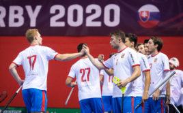 Češi porazili v prvním přátelském utkání Slovensko. Foto: Martin Flousek, Český florbal