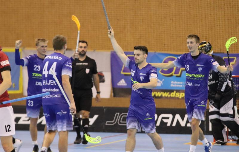 Marek Matejčík zpečetil výhru Vítkovic. Foto: 1. SC Vítkovice
