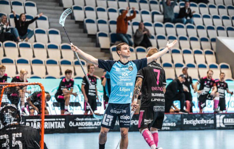 Filip Forman proti Falunu zazářil. Foto: FBC Kalmarsund