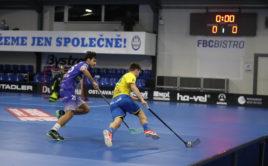 Matyáš Šindler (vlevo) zapsal v duelu proti svému bývalému klubu pět bodů. Foto: FBC ČPP Ostrava, Český florbal