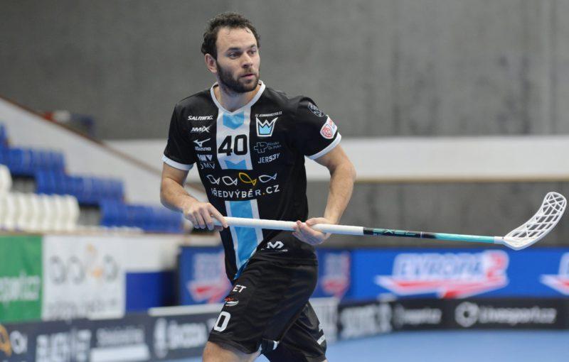 Jiří Curney překonal další rekord. Foto: Miloš Moc, Florbal Mladá Boleslav