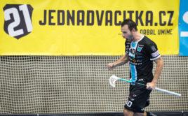 Jiří Curney je absolutním rekordmanem českého florbalu. Foto: Miloš Moc, Florbal Mladá Boleslav