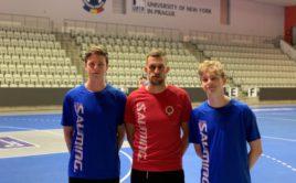 Trio Dominik Beneš, Ondřej Riebauer a Matyáš Bachmaier se chystá krátkodobě posílit Spartu. Foto: ACEMA Sparta Praha