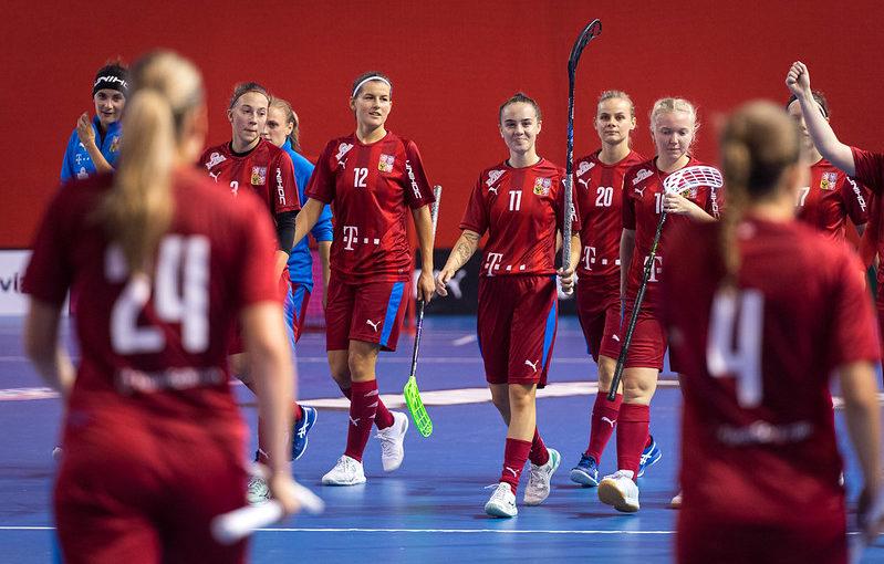 Češky se utkají v kvalifikaci o postup na mistrovství světa se Slovenkami, Dánkami a Estonkami. Foto: Martin Flousek, Český florbal