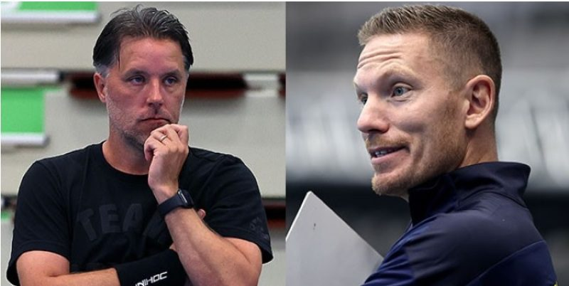 Thomas Brottman (vlevo) a Niklas Nordén jsou novými trenéry Švédů.