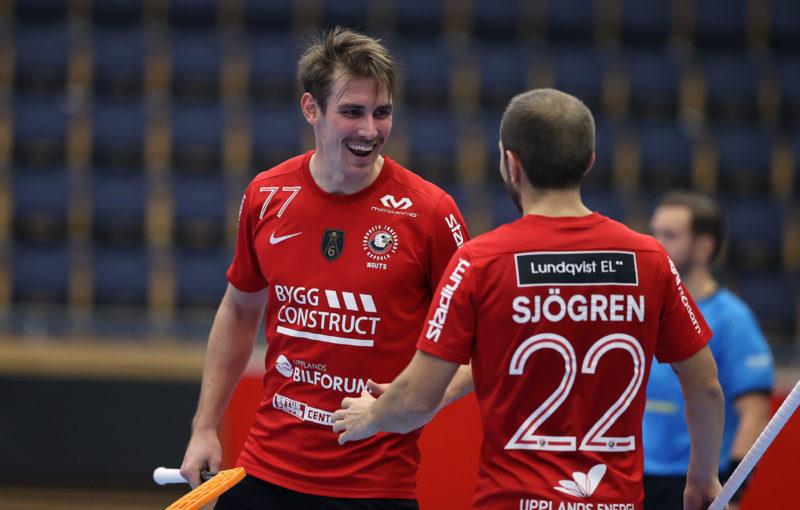 Hráčům Storvrety se podařilo vyzrát na dosud neporažený Kalmarsund. Foto: Per Wiklund, www.perwiklund.se