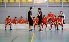 Juniorská reprezentace se bude na tréninkovém kempu připravovat na blížící se mistrovství světa. Foto: Český florbal