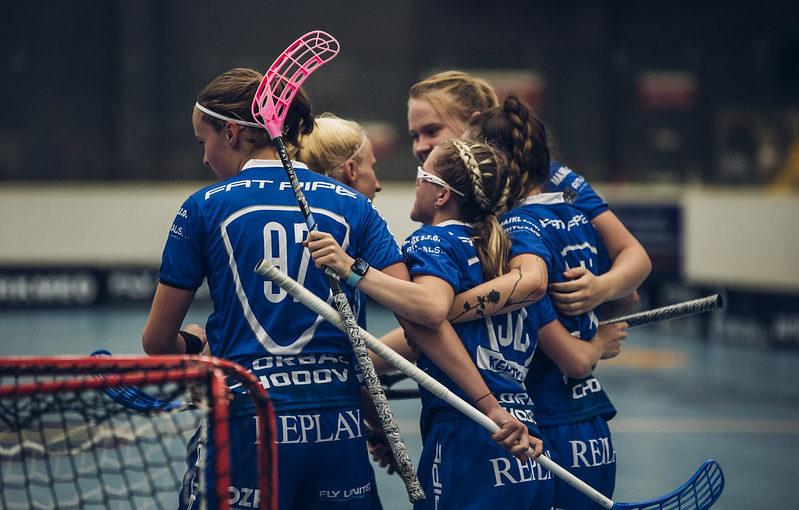 Florbalistky Chodova se připravují na duel s Vítkovicemi. Foto: Český florbal