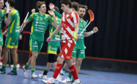 Marek Beneš zapsal v duelu s Thorengruppenem gól a dvě asistence. Foto: Per Wiklund, www.perwiklund.se
