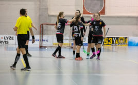Židenice se po výhře v derby vrátily do boje o play off. Foto: Bulldogs Brno, Český florbal