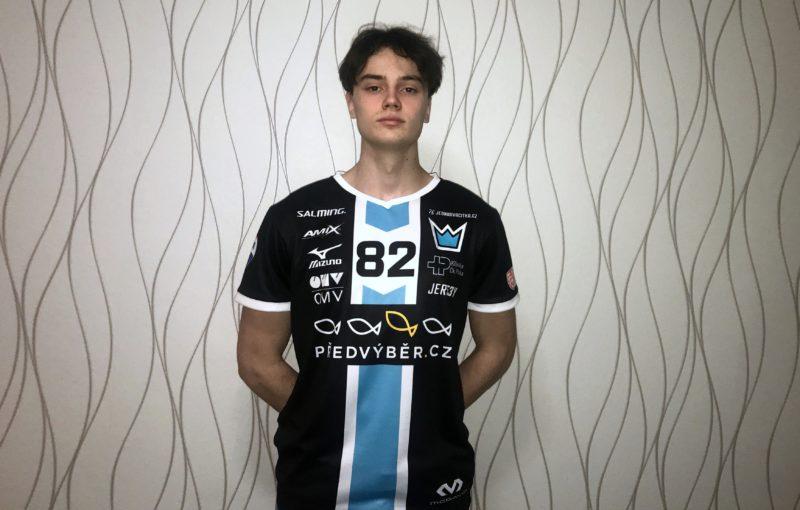 Adam Hemerka se stal novou posilou superligového lídra. Foto: Florbal Mladá Boleslav
