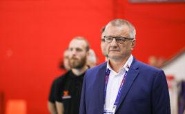 Petr Koutný před utkáním s Estonskem na MS mužů 2018. Foto: IFF