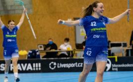 Lina Hägg nastřílela FBC pět branek. Foto: Florbal Vítkovice