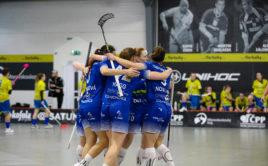 Hráčky Vítkovic ovládly ostravské derby. Foto: FBC ČPP Ostrava, Český florbal