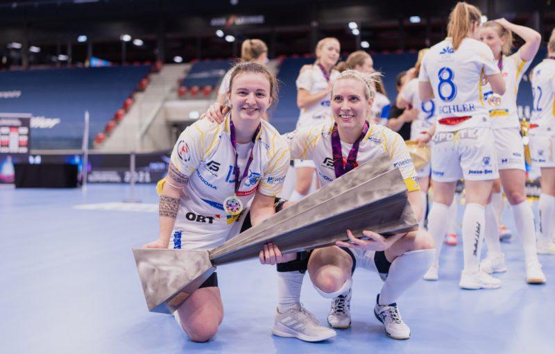 Natálie Martináková má druhý švýcarský titul Foto: Claudio Schwarz, unihockey-fotos.ch