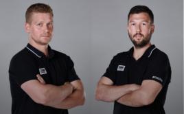 Michal Kotlas a David Bouša se i v nové sezoně postaví na lavičku SKV. Foto: TJ Sokol Královské Vinohrady