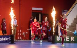 Poslední sraz absolvovaly české reprezentantky v září 2020. Foto: Martin Flousek, Český florbal