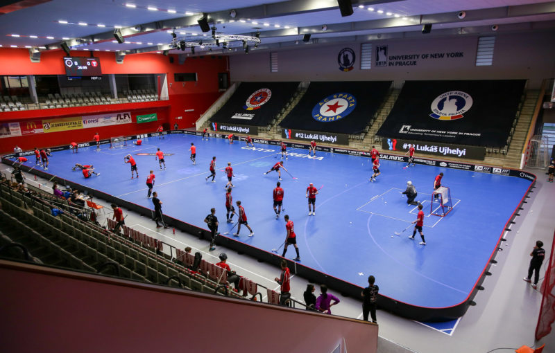 UNYP Arena bude hostit souboje o titul. Foto: ACEMA Sparta Praha