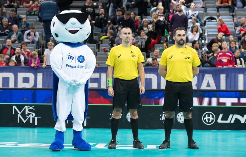 Bratranci Kamil Sojka a Tomáš Sojka budou řídit superfinále Livesport Superligy. Foto: Martin Flousek, Český florbal