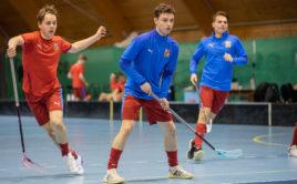 Pro Filipa Formana půjde o druhý juniorský šampionát. Foto: Matyáš Klápa, Český florbal