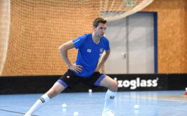 Tomáš Chroust už se připravuje s Kladnem. Foto: Kanonýři Kladno
