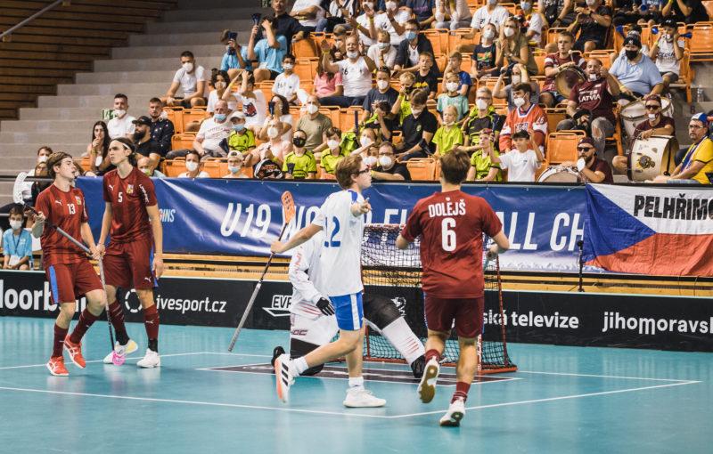Finsko slaví vítězství nad Českem na juniorském šampionátu. Foto: Salibandy.fi