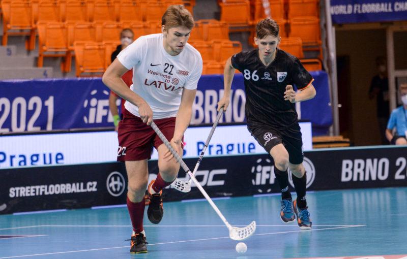 Daniels Anis v utkání proti Německu. Foto: Alena Zapletalová