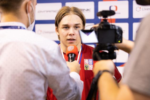 Spokojený Matěj Pěnička po finálovém triumfu. Foto: Matyáš Klápa