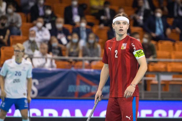 Se sedmi body byl Filip Forman druhým nejproduktivnějším hráčem českého týmu. Foto: Martin Flousek