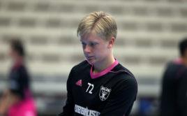 Melker Hemmingberg platí za budoucí švédskou florbalovou superstar. Foto: Per Wiklund, www.perwiklund.se