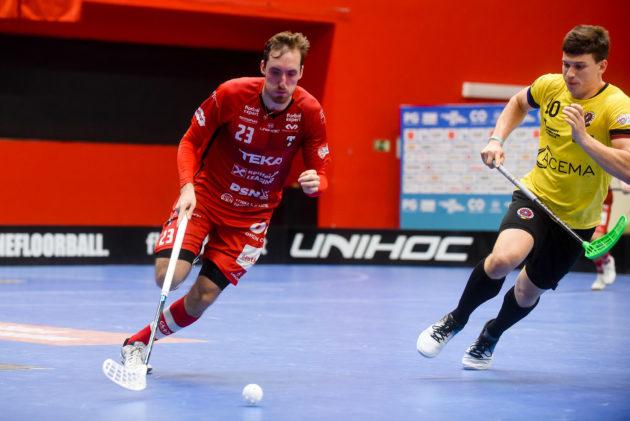 David Šimek. Foto: Floorball in Prague